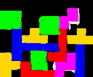 The worst tetris game