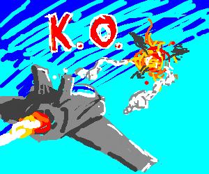 tekken style jet plane fights