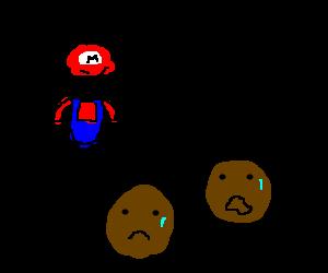 mario and his black round slaves
