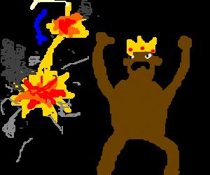 Professor Challenger and the apeman king