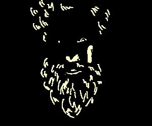 Borat got new a brand new beard
