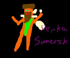 Borat with a full beard