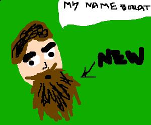 Sasha Baron Cohen's new beard