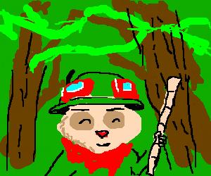 Teemo in the jungle