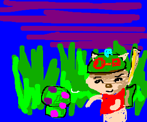 Teemo on duty in the jungle.