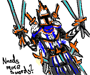king of heroes do you have enough swords drawception
