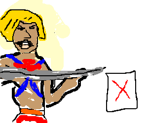 "He man. the ""web page is not available"" icon"