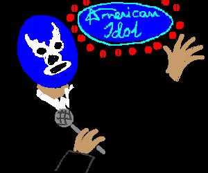 Blue Demon realizes he'll miss American Idol