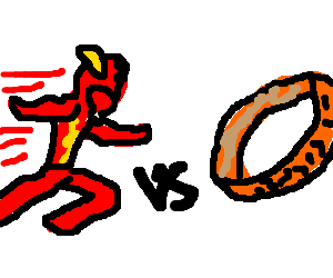 The Flash versus the One Ring