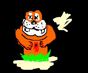 NES Duck Hunt - Dog gets shot
