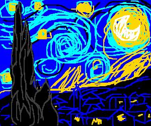 Van Gogh's 'Night Sky'