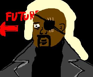 Nick Fury contemplates future