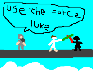 obi wan tells luke to use the force
