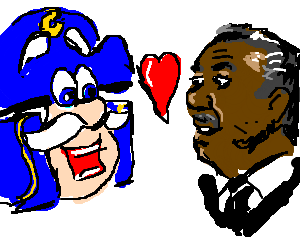 Rev. Al Sharpton loves Cap'n Crunch!