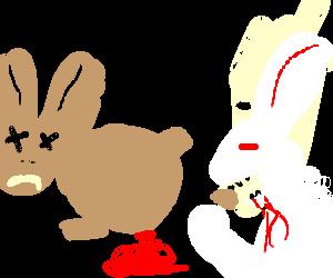 Bunny Cannibalism