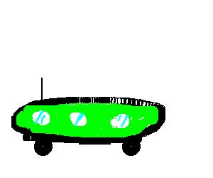 UFO-like car
