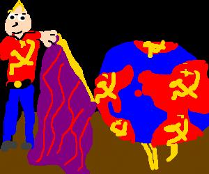 Communist unveils model world