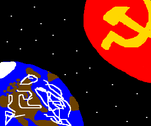 Soviet planet prepares its attack on Earth
