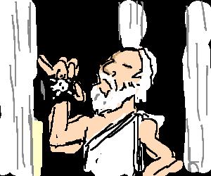 Socrates drinks the hemlock