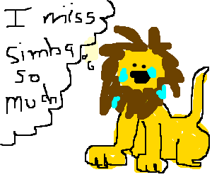 the lion king miss his son