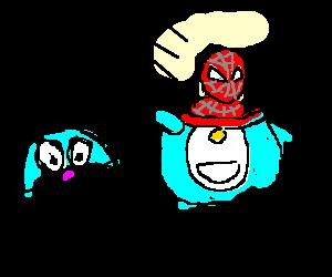 Doraemon is Spiderman's secret identity
