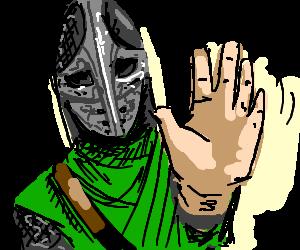 skyrim how to make a guard