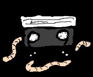 Tape worms...ba dum bum
