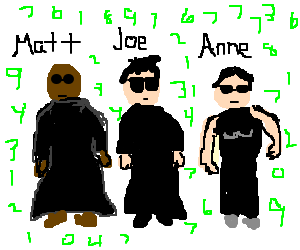 The Matrix with real names
