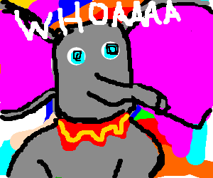 Dumbo on acid trip