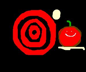 Off-target tomato