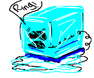 Telephone is being thawed.