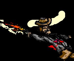Sheriff shoots Bob Marley