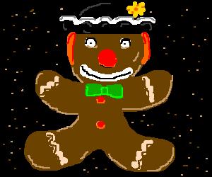 Ginger bread clown