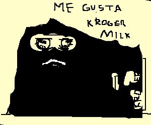 Hi, my name is Leonardo, and I drink Kroger Milk