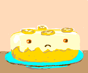 The Particular Sadness Of Lemon Cake Drawing By Kittycatfish
