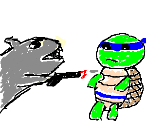 Street sharks vs ninja turtles