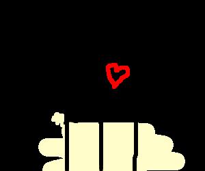 a literal human heart