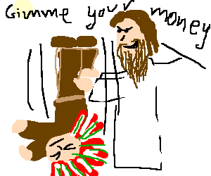 Jesus bullies Native American