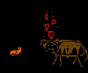 brown chicken! brown cowwww!