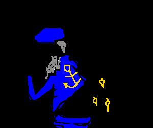 captain sparkle butt