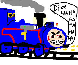 Thomas the Armored War Machine.