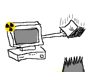 Radioactive PC rescues Mac