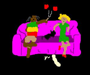 bob marley and tina turner love their cats