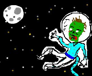 Zombies in SPAAAAAAAACE!