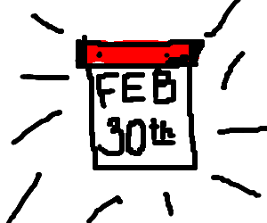 february 30th has come!