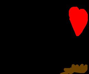 A motorbike shoveling for love