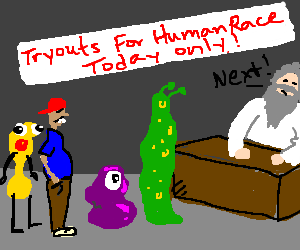 Tryouts for the human race