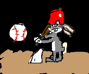 bugs at the bat