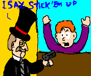 classy bank-robber