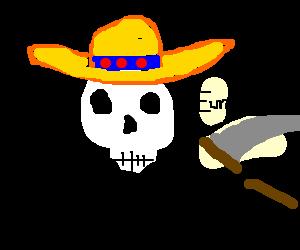 Senor Death has an epiphany